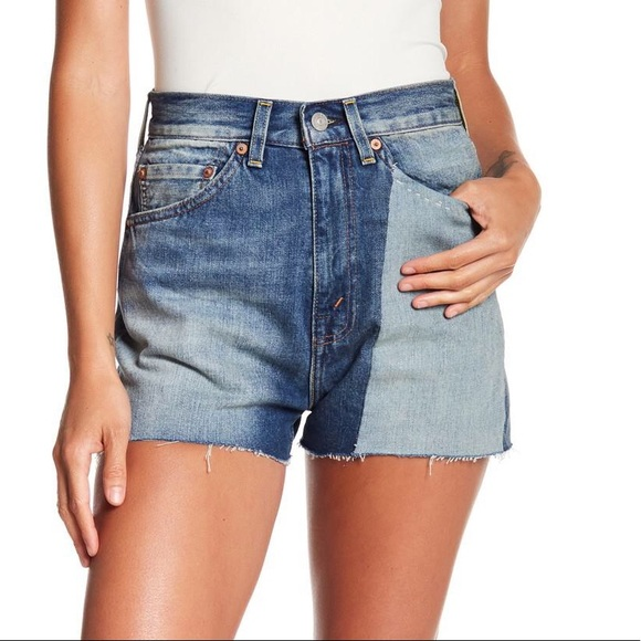 ce9f0b03f13 NWT Levi s 701 Jeans Shorts High Rise 1950 Cutoff